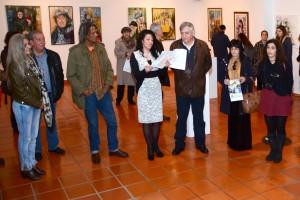 Paula Bravo inaugurou exposição no Museu Municipal de Santiago do Cacém