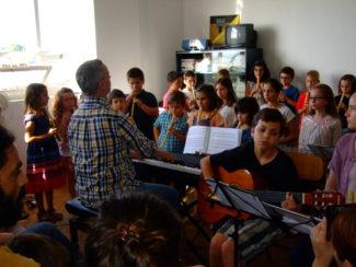 Audições dos alunos da Escola Municipal de Música