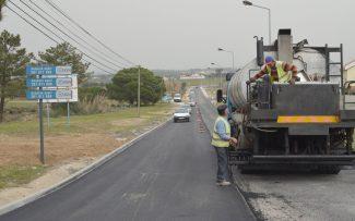 Santo André: reta final da pavimentação entre a Aldeia e a Cidade