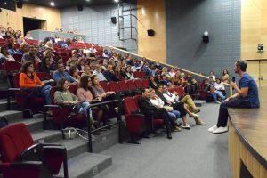 Vicente Alves do Ó esteve em Santiago do Cacém para apresentação do recente filme do realizador sineense