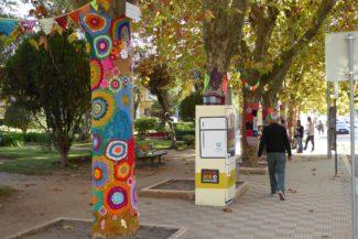 Jardim de Crochet deslumbra em Santiago do Cacém