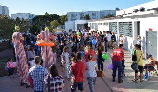 Um dia feliz para crianças e pais na inauguração da renovada Escola Básica de 1.º Ciclo n.º 3 de Santo André