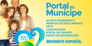 Portal do Munícipe - Águas e Saneamento, Resíduos Sólidos Urbanos, DECO, Comunicados, Portal do Cidadão - A Minha Rua, Pedido de Informações