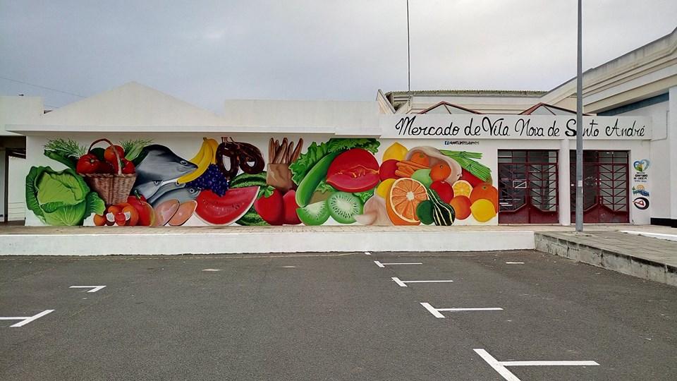 graffiti mercado