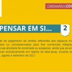 5.ª Renovação das medidas extraordinárias aplicadas pela Câmara Municipal de Santiago do Cacém para apoio social e económico no combate à pandemia pela doença COVID-19 - Medida 5