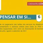 5.ª Renovação das medidas extraordinárias aplicadas pela Câmara Municipal de Santiago do Cacém para apoio social e económico no combate à pandemia pela doença COVID-19 - Medida 6