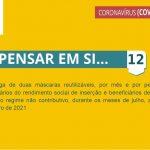 5.ª Renovação das medidas extraordinárias aplicadas pela Câmara Municipal de Santiago do Cacém para apoio social e económico no combate à pandemia pela doença COVID-19 - Medida 12
