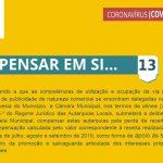 5.ª Renovação das medidas extraordinárias aplicadas pela Câmara Municipal de Santiago do Cacém para apoio social e económico no combate à pandemia pela doença COVID-19 - Medida 13