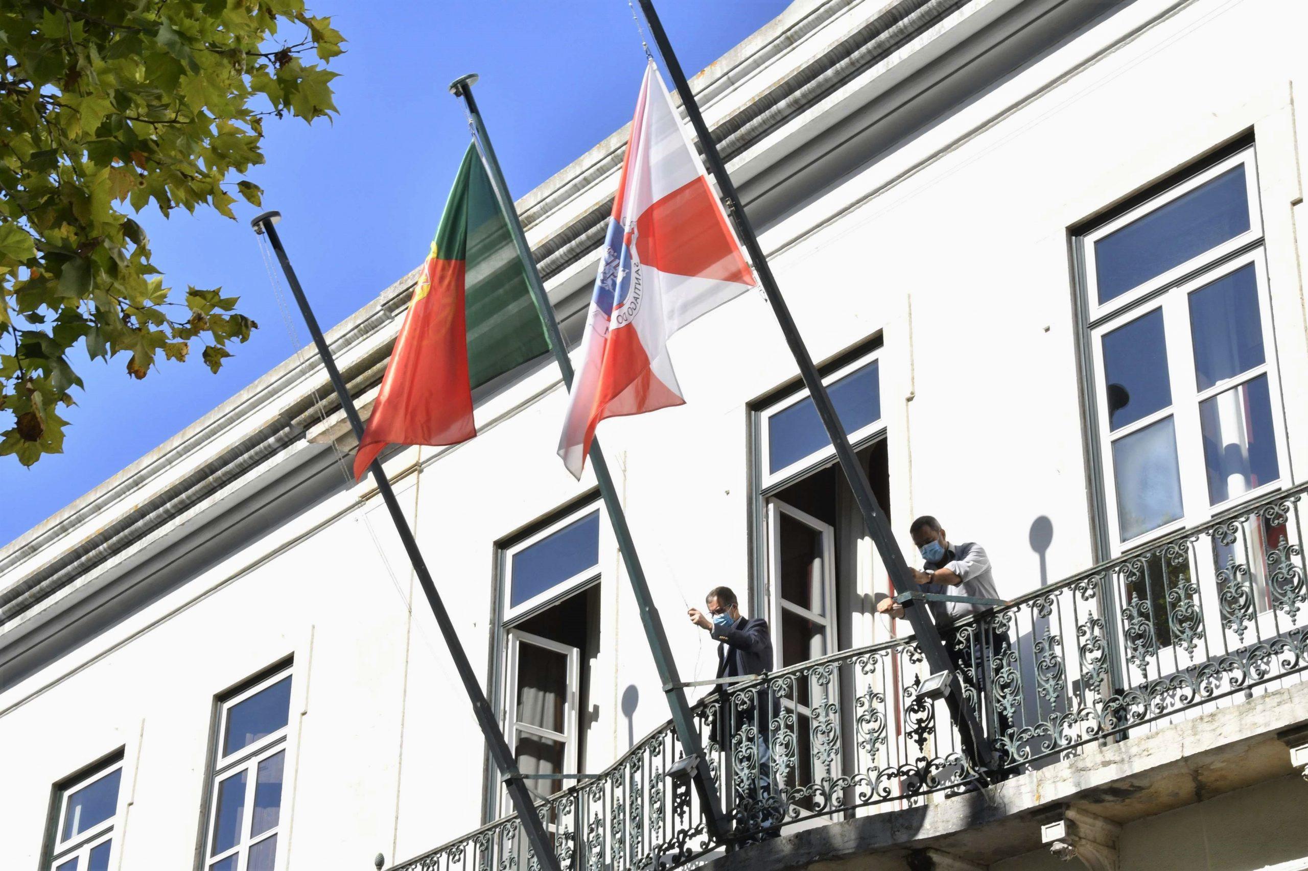 Cerimónia do Hastear da Bandeira - Dia do Município