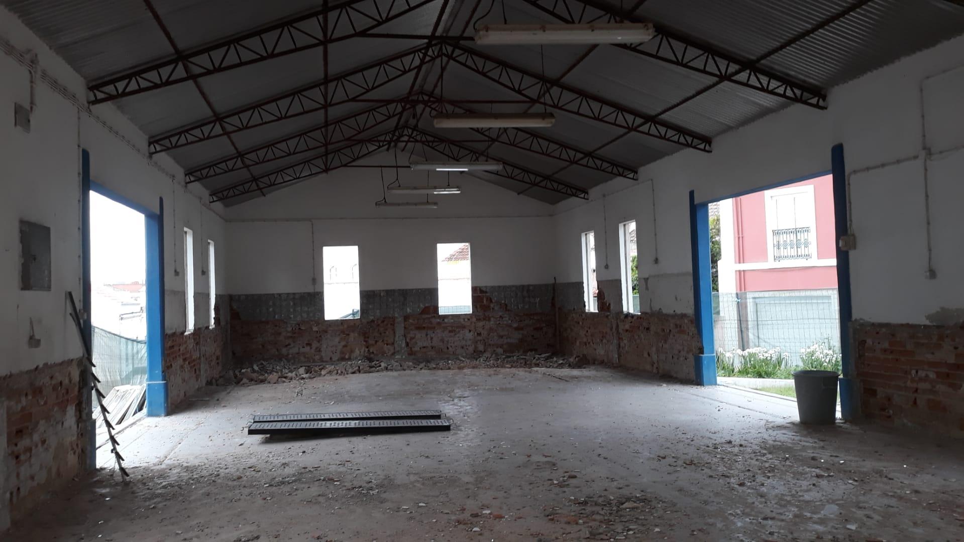 Obras no Mercado Municipal do Cercal do Alentejo