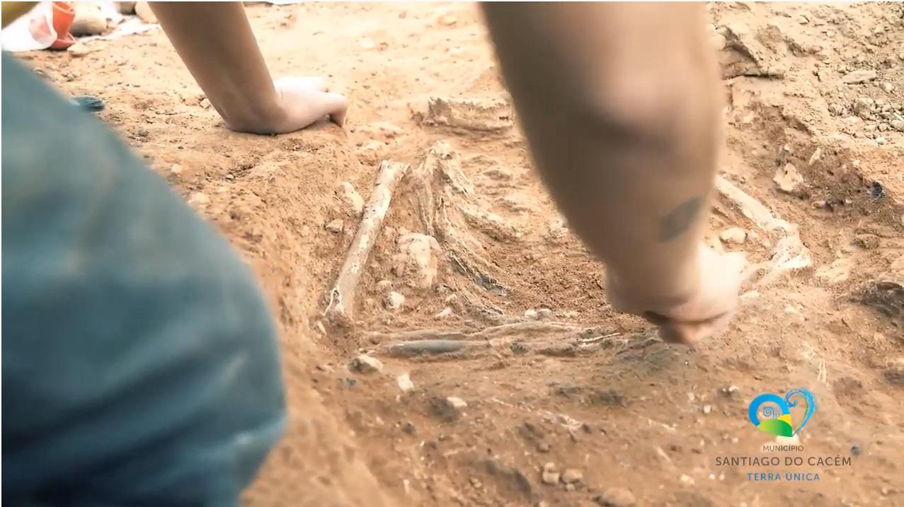 Trabalhos arqueológicos em Alvalade