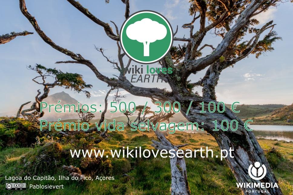 Concurso Fotográfico Wiki Loves Earth 2021 Portugal