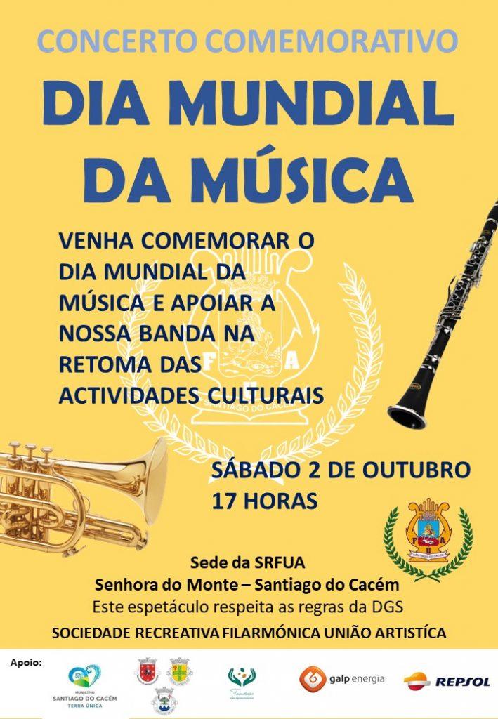 Dia mundial da música - SRFUA