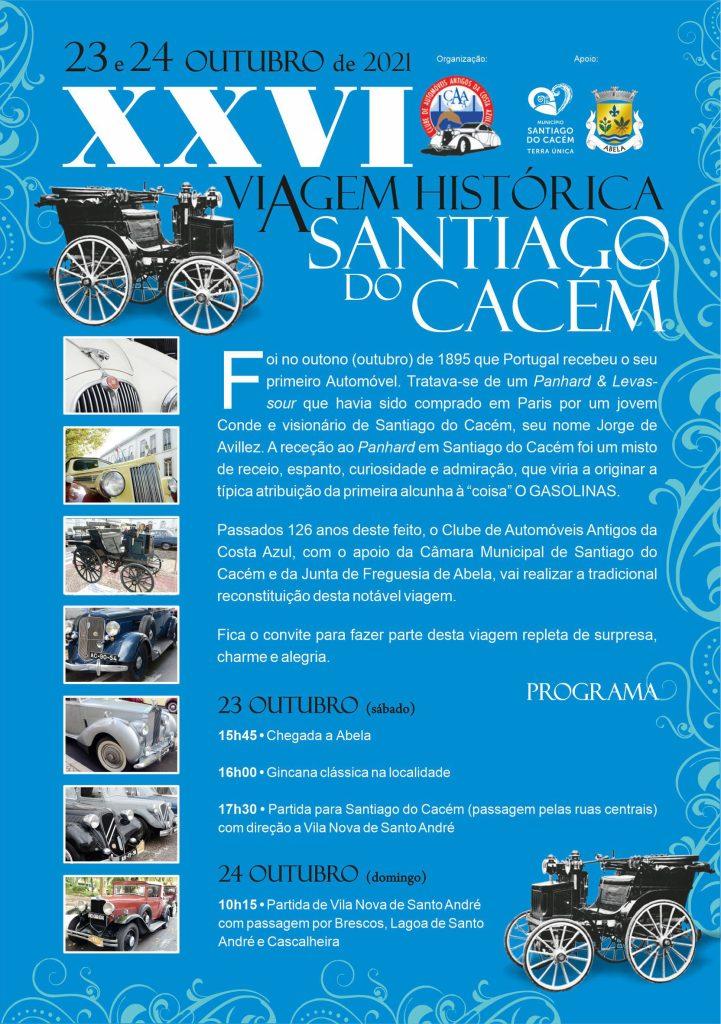 XXVI Viagem Histórica a Santiago do Cacém